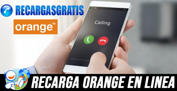 Recarga Orange Gratis